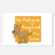 No Pedigree Required Postcards (Package of 8)