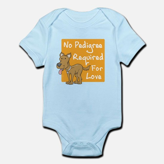 No Pedigree Required Infant Bodysuit