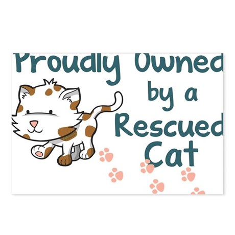 Proudly Owned (Cat) Postcards (Package of 8)