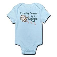 Proudly Owned (Cat) Infant Bodysuit