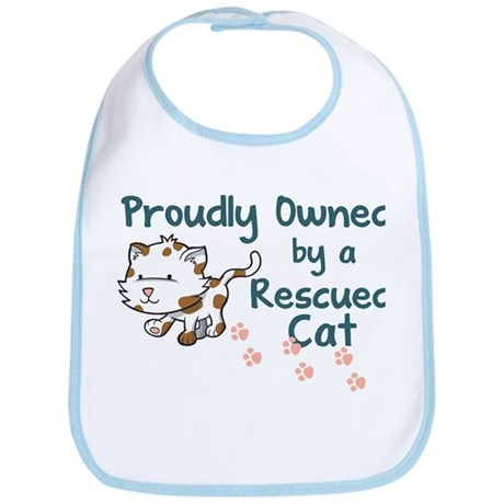 Proudly Owned (Cat) Bib