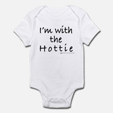 I'M WITH THE HOTTIE Infant Bodysuit