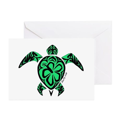 Tribal Turtle Greeting Cards (Pk of 10)