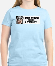 """It Takes A Village"" Women's Color Tee"