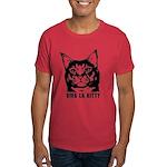 Viva la Kitty -Cat Revolution Dark T-Shirt