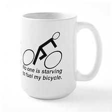 No one is starving Mug