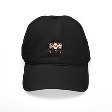 Peace Love Cupcakes Baseball Hat