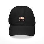 Peace Love Cupcakes Black Cap