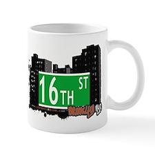 16th STREET, BROOKLYN, NYC Mug