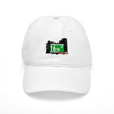 16th STREET, BROOKLYN, NYC Baseball Cap