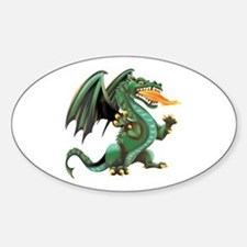 Dragon Oval Decal