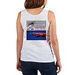 AERIAL FIREFIGHTING Women's Tank Top, art on back