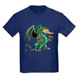Kids dragon shirt Kids T-shirts (Dark)