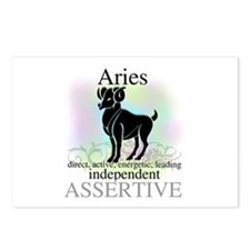Aries the Ram Postcards (Package of 8)