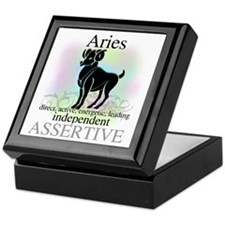 Aries the Ram Keepsake Box
