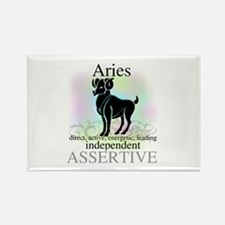Aries the Ram Rectangle Magnet