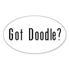 Got Doodle? Oval Decal