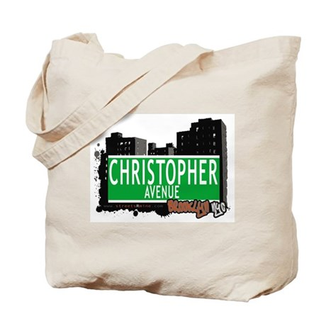 CHRISTOPHER AVENUE, BROOKLYN, NYC Tote Bag