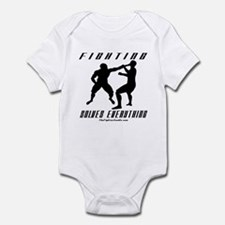 Fighting Solves Everything w/ Infant Bodysuit