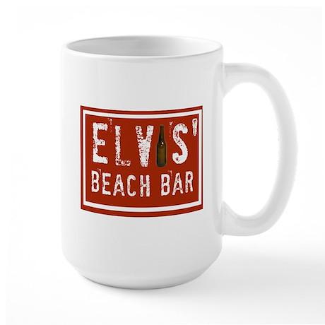 Elvis' Btl Logo Large Mug