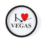 "I ""Heart"" Vegas Wall Clock"