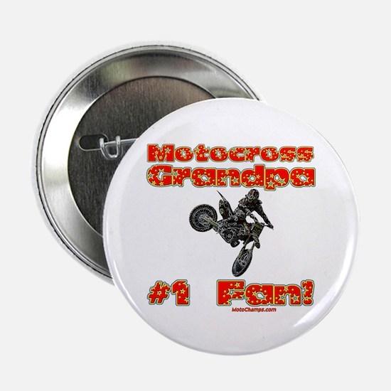 """""""Motocross Grandpa"""" 2.25"""" Button"""