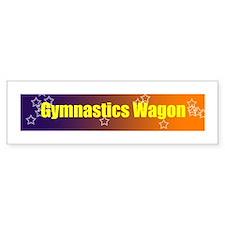Gymnastics Bumper Bumper Sticker