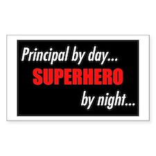 Superhero Principal Rectangle Decal
