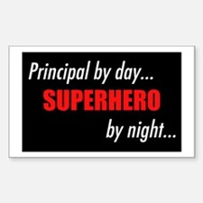 Superhero Principal Rectangle Decal