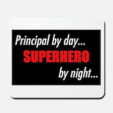Superhero Principal Mousepad