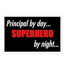 Superhero Principal Postcards (Package of 8)