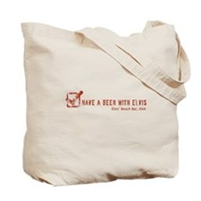 Ship Faced/Beer At Elvis' Logo's Tote Bag