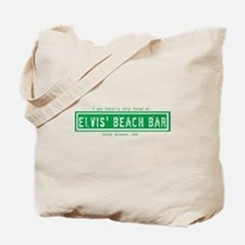 Ship Faced/Beer At Elvis' Logo's Tote Bag