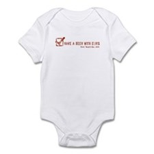 Have A Beer At Elvis' Logo Infant Bodysuit
