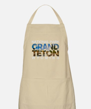 Grand Teton - Wyoming Light Apron