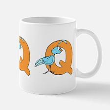 Q is for Quail Mug