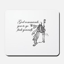 God Said So Mousepad