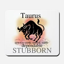 Taurus the Bull Mousepad