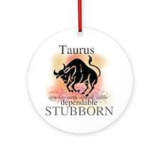 Taurus the Bull Ornament (Round)