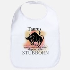 Taurus the Bull Bib