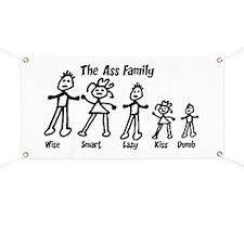 Ass Family Banner