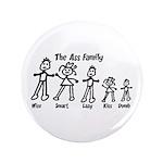 """Ass Family 3.5"""" Button (100 pack)"""