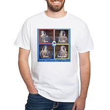 Fledglings on Blue Shirt