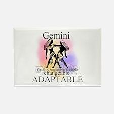 Gemini the Twins Rectangle Magnet