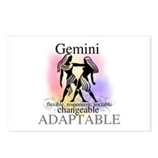 Gemini the Twins Postcards (Package of 8)