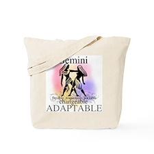 Gemini the Twins Tote Bag