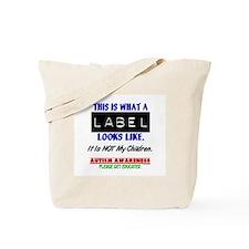 Label 1 Autism (Children) Tote Bag
