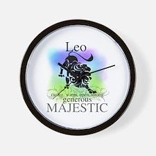 Leo the Lion Zodiac Wall Clock