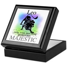 Leo the Lion Zodiac Keepsake Box