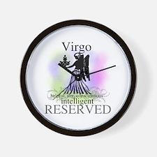 Virgo the Virgin Wall Clock
